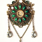 Steampunk necklace #1