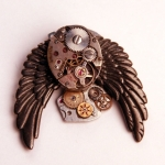 Steampunk necklace #4